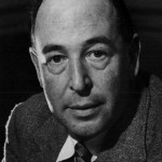 A headshot of C.S. Lewis from 1947.