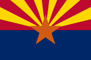 The flag of Arizona state.