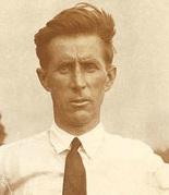 Professional golfer Jim Barnes