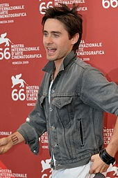 Jared Leto at a film premiere.