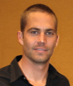 The actor Paul Walker