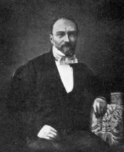 Swedish chemist Carl Gustav Mosander