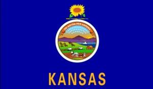 The state flag of Kansas