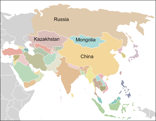 Where is Mongolia Located