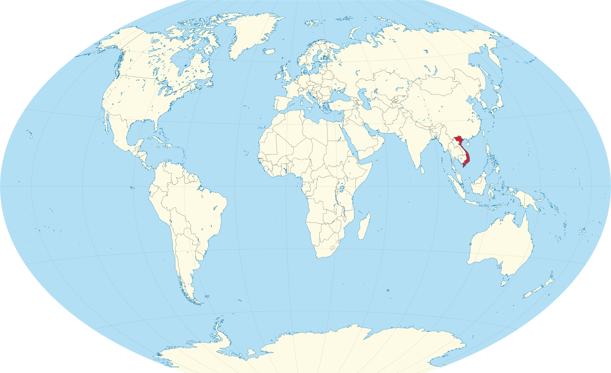Where is Vietnam Located