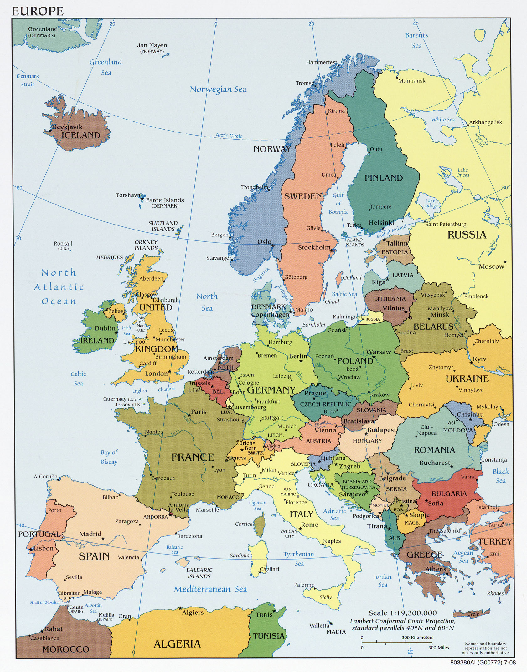 Where Is Germany On The Map Of Europe.Where Is Germany Located