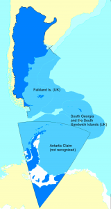 A map of all Argentine land claims.
