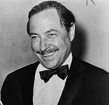 American playwright Tennessee Williams