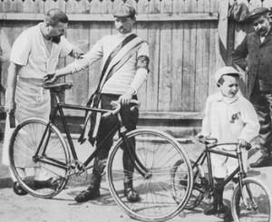 Maurice Garin - winner of the first Tour de France.