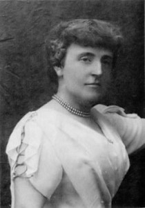 English author Frances Burnett