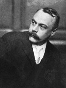 Scottish author Kenneth Grahame